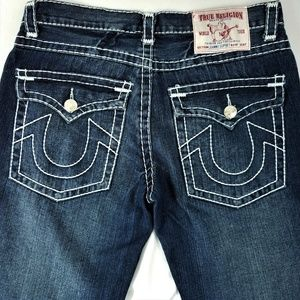 True Religion Jeans Johnny Super T Flap Pocket 34